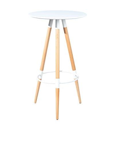 13 Casa  Tavolo Molde Bianco 60 x 60 x 105H cm