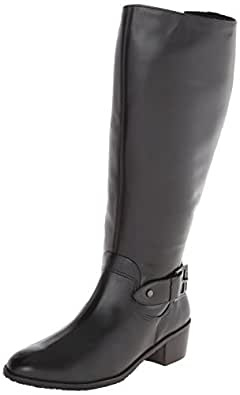 Rose Petals Women's Chelsea Extra Wide Calf Riding Boot
