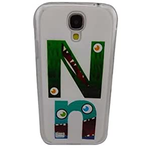 Beautiful English Letter N Pattern PC Back Case for Samsung S4/I9500