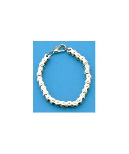 Ladies Motorcycle Bikers Real Chain Bracelet (#JL229)