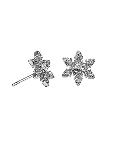 Lily and Lotty - Christina earrings - Boucles d'Oreille Femme - Argent 925/1000 1.3 Gr - Diamant
