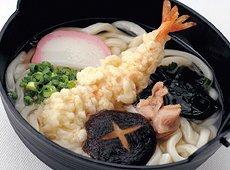 具付麺 えび天鍋焼うどんセット 1食(300g)