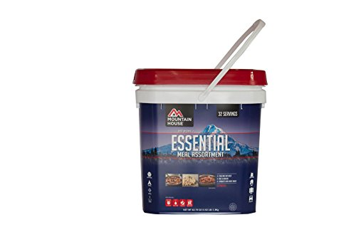 Mountain House Just In Case...Essential Bucket (Food Long Term Storage compare prices)
