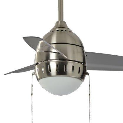 Bambini Ventilatore da soffitto camera da letto minimalista ventola luce Led ventilatori a soffitto Bullet Ristorante lampadario ventilatore