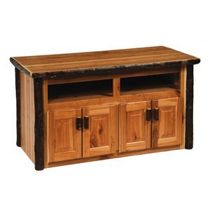 Cheap Fireside Lodge 84250 Hickory Widescreen Television TV Stand (B005BSKLVO)