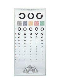 視力検査表 国際標準式 5m用 標準