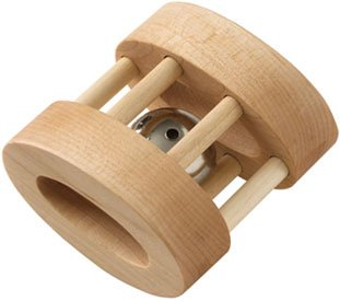 Maple Landmark Wood - Natural Oval Bell Rattle