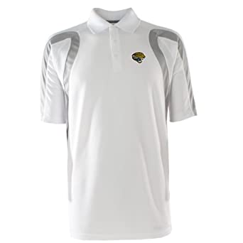 NFL Mens Jacksonville Jaguars Point Desert Dry Polo Shirt by Antigua