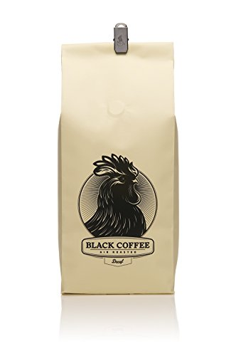 Black Coffee La * Decaffeinated * (1-Pack) - 12Oz Bag Of Whole Bean Coffee - Los Angeles, California - Air Roasters