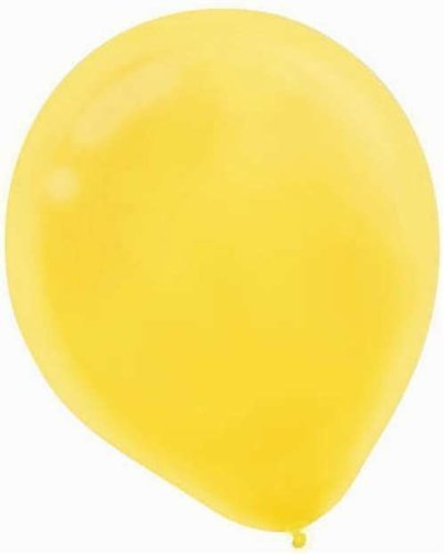 "Sunshine Yellow Latex Balloons -12"" - 15/Pack"