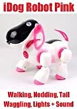 I-ROBOT ELECTRONIC ROBOTIC PET DOG WALKING PUPPY KIDS TOY CHILDREN GIRL PINK