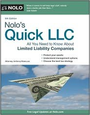 Nolo's Quick LLC 6th (sixth) edition Text Only