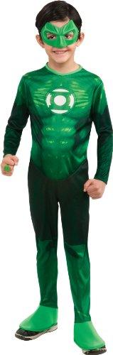 Green Lantern Child's Hal Jordan Costume - One Color - Small