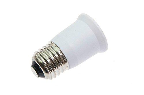 Shangge Ce&Rohs Certification 5 Pcs E26 To E26 Led Bulb Base Converter Halogen Cfl Light Lamp Adapter Socket Change Pbt