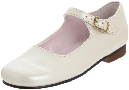 Toddler Girl's Nina 'Bonnett' Mary Jane, Size 13 W - Beige