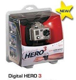 水中撮影デジタルカメラ 防水カメラ GoPro《NEW Digital HERO3》