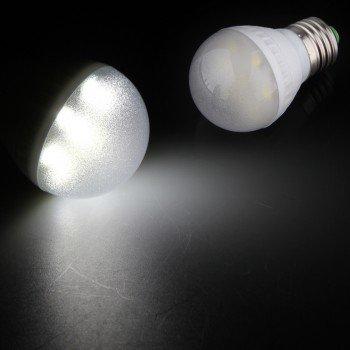 10 E27 2.5W 7 Leds 5050 Smd Spot Light Lamp Bulb White Energy Saving