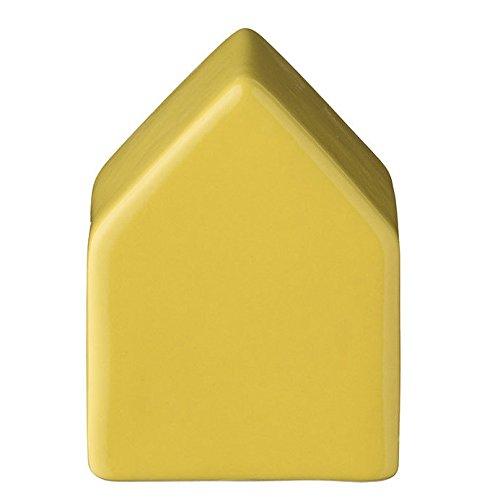 Bloomingville Haus aus Keramik gelb klein von Bloomingville