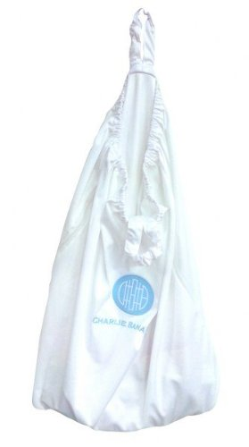 Winc Design Limited 889395 Hanging Diaper Pail White In Box front-341586