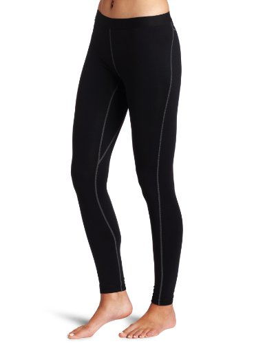 Columbia Women's Baselayer Heavyweight Tight, Black, Medium (Regular)