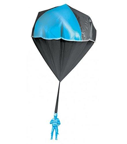 Aeromax 2000 Glow Parachute Blue (Glow In The Dark Toy Parachute)