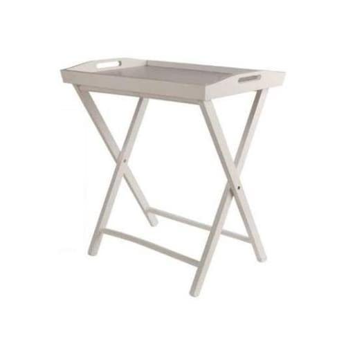 Ethos basics tavolino pieghevole con piano a vassoio for Tavolino vassoio