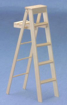"Dollhouse 5"" Step Ladder - 1"