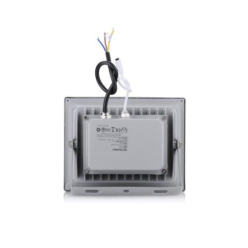 3 X LianLe 20W RGB LED Lumière crue avec télécommande IR, couleur étanche Charge lampe extérieure, AC 85-265V, 50 / 60Hz