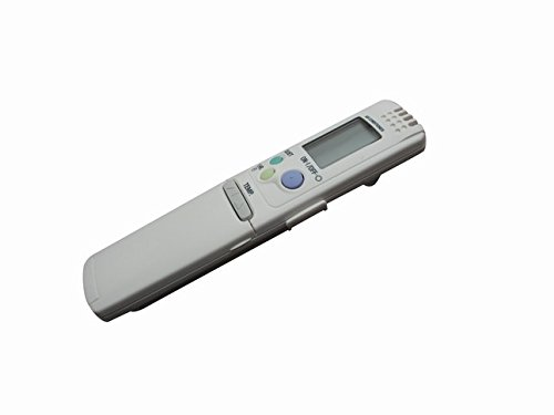 General Replacement Remote Control For Sanyo RCS-3HVPSN4E-T RCS-3MVHPN4E SAP-K122AH RCS-4MVPS4EX AC Air Conditioner