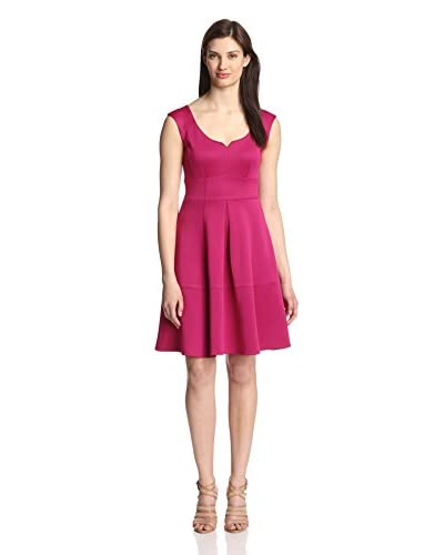 Gabby Skye Women's Fit-and-Flare Dress
