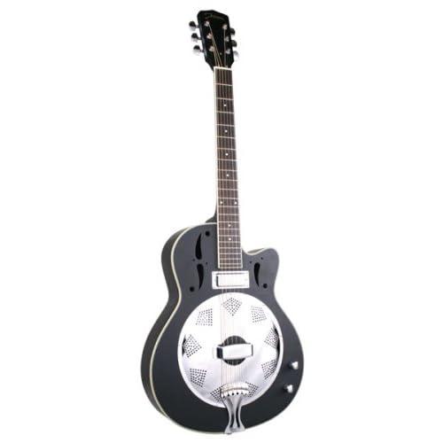 Amazon.com: Johnson Swamp Stomper Resonator Guitar with Pickup