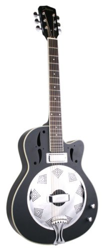johnson swamp stomper resonator guitar with pickup used guitars for sale. Black Bedroom Furniture Sets. Home Design Ideas