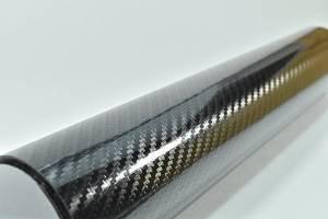 [TARO WORKS] 5D リアル カーボンシート 3D カーボンシート タイプ 152cm×30cm 黒 ブラック