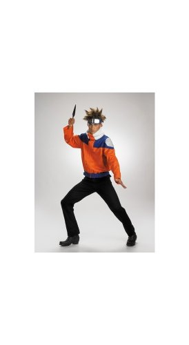 Disguise Boys Naruto Jacket Costume