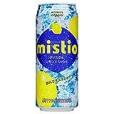 ダイドー ミスティオ クリスタルレモンスカッシュ500ml缶×24本入