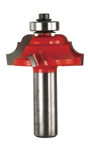 Freud 38-362 Quadra- Cut  1-1/2-Inch Diameter Classical Cove and Bead Router Bit with 1/2-Inch Shank