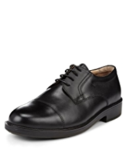 Airflex™ Leather Wide Fit Toe Cap Shoes