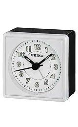 Seiko Clocks Quiet Sweep Bedside Alarm clock #QHE083WLH
