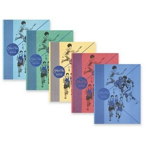 Mead 33022 Color Talk Peechee Folder, Assorted