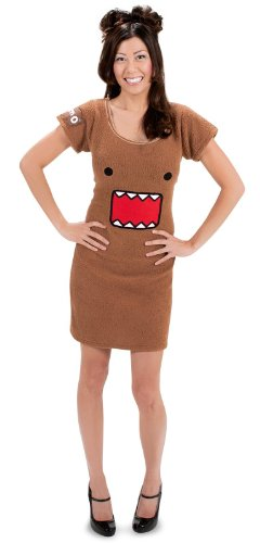 elope Domo Dress, Brown, Large/X-Large