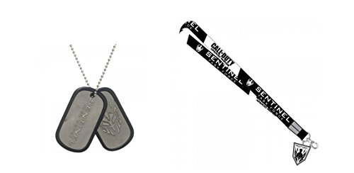 Call of Duty Advanced Warfare Sentinel Lanyard and Dog Tag 2 item Bundle (Advanced Warfare Items compare prices)