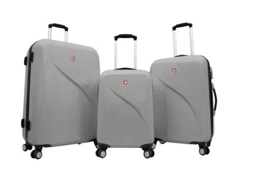 Trolley Koffer Set 3 tlg. - EVO - Grau von Wenger