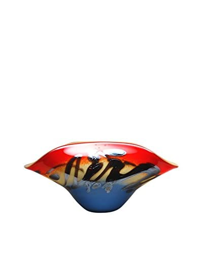Mila Brown Odyssey Oval Centerpiece