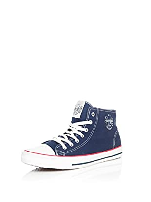 SPRINGFIELD Zapatillas abotinadas Sneaker (Azul)