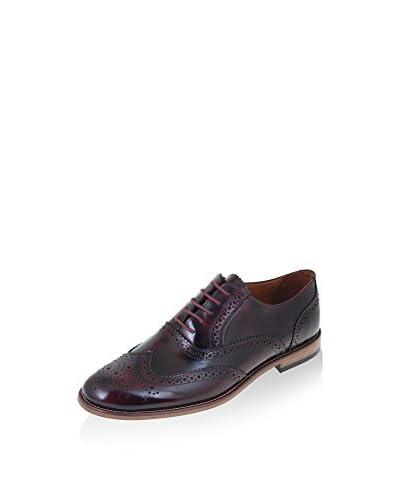MALATESTA Zapatos Oxford MT1016 Burdeos