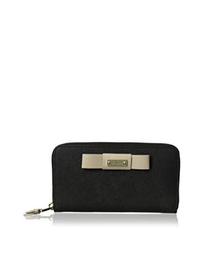 Badgley Mischka Women's Wendi Tech Wallet, Black/Latte
