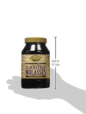 Golden Barrel Unsulfured Black Strap molasses, 32 Ounce