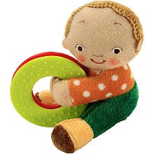 Karen Katz Daddy and Me Teether and Rattle