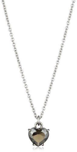 Dyrberg/Kern Jennara Ss 332212 Brass  Crystal  Necklace with Pendant