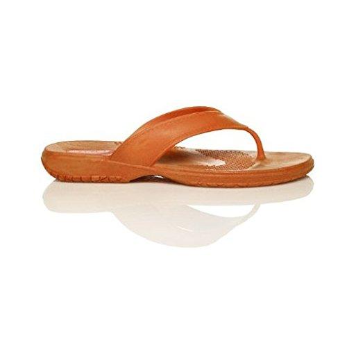 Classic Flip Flop Orange, LL
